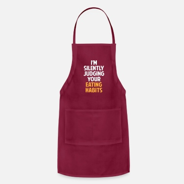 Certified Nutrition Specialist I'm Silently Judging Your Eating Habits,Nutritioni - Apron