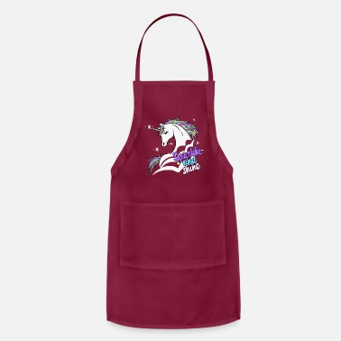 Sparkle and Shine Unicorn - Apron