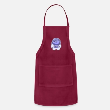 Moon Rocket Penguin Astronaut Space Space Kids gift - Apron