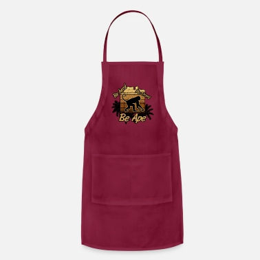 Ape Ape Power monkey be ape - Apron