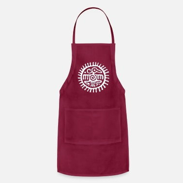 American Indian INDIANS SYMBOLS - Native Americans - Adjustable Apron