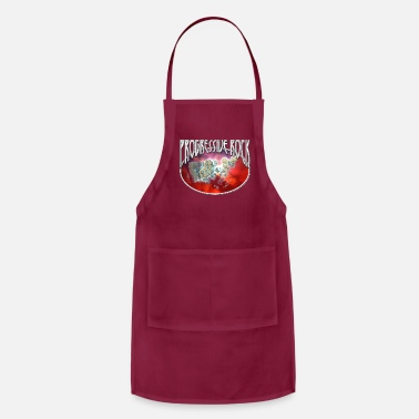 Hard Rock Progressive Rock Sci-Fi Space Rocks Fractal - Adjustable Apron