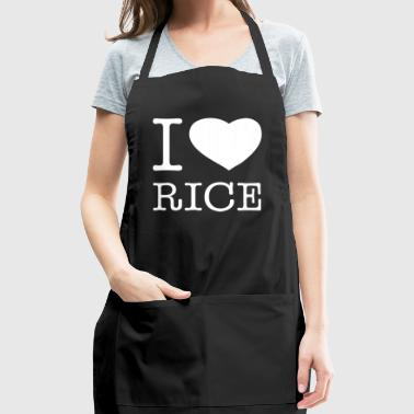 I LOVE RICE - Adjustable Apron