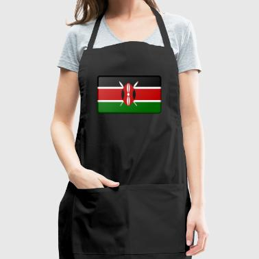 Kenya Flag - Adjustable Apron