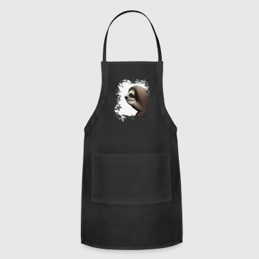 Sloth the coolest grungy sloth grunge sloth-lovers gift - Adjustable Apron