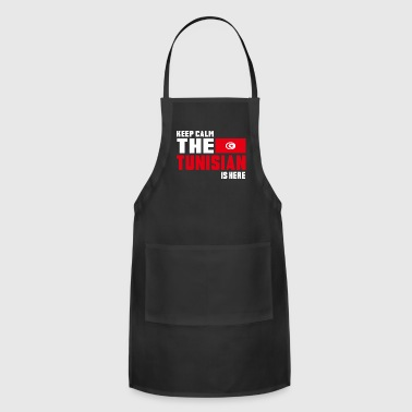 Keep calm the Tunisian is here - Adjustable Apron