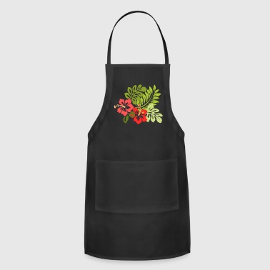 Hawaiian Hawaiian Flowers - Adjustable Apron