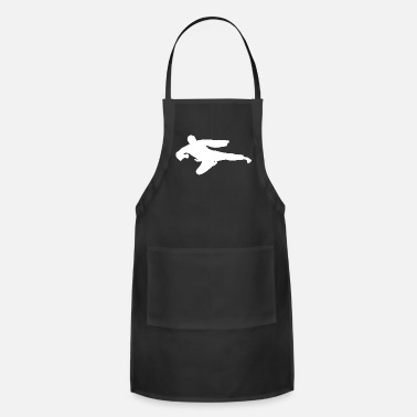 Martial Arts Karate Fighter Fighting Martial Arts - Adjustable Apron