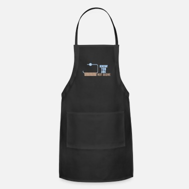 Toilet Humor You are not alone toilet humor - Adjustable Apron