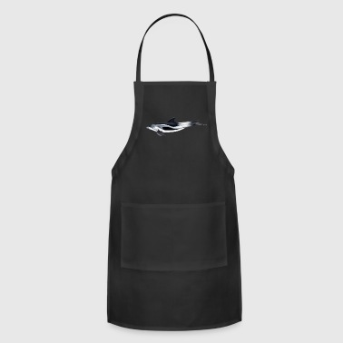 White beaked dolphin (Lagenorhynchus) - Adjustable Apron