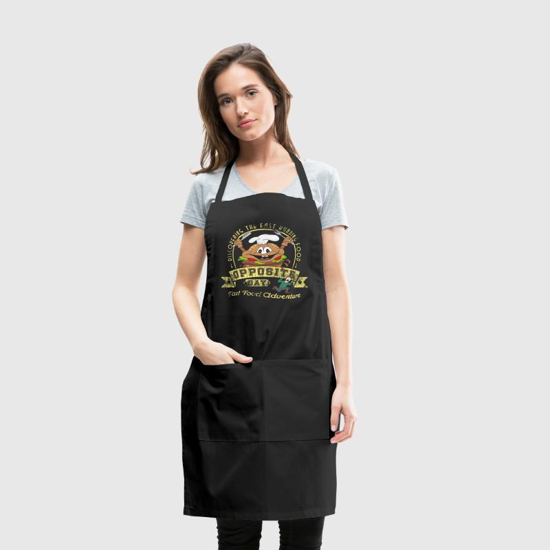 Opposite Day Funny Fast Food Adventure - Adjustable Apron