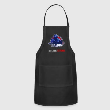 Extrix's Apprentice Logo + Twitch - Adjustable Apron