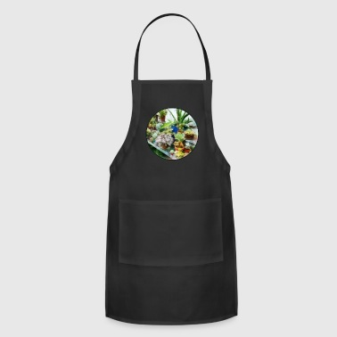 Greenhouse With Cactus - Adjustable Apron