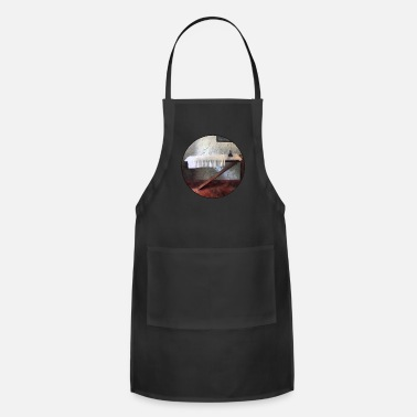 Ironic Iron Board and Iron - Adjustable Apron