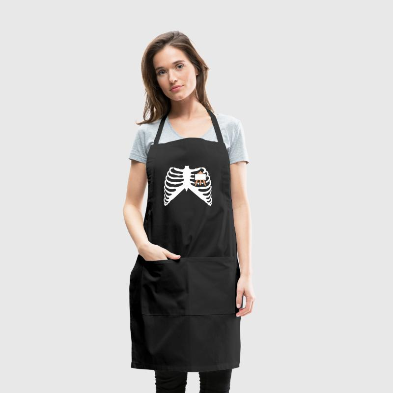 MY HEART BEATS FOR PAINTING - I LOVE TO PAINT! - Adjustable Apron