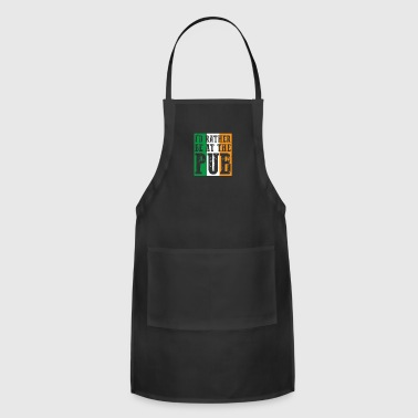 Irish Bar At The Bar gift for Irish People - Adjustable Apron