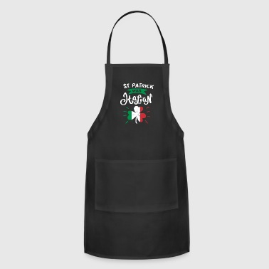 St Patricks Day St. Patrick was Italian St Patrick's Day Gift - Adjustable Apron
