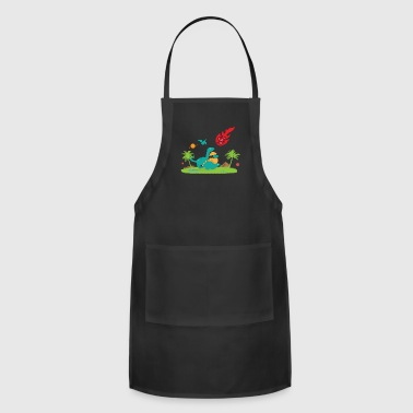 D20 Critical Hit Roleplaying Game Funny T Shirt - Adjustable Apron