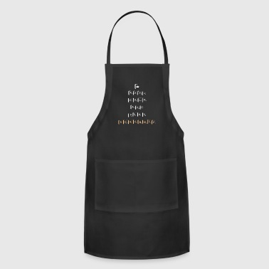 Keep Calm And Play Scrabble - Funny Scrabble Nerd - Adjustable Apron