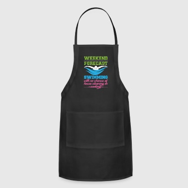 Swimming Forecast - Adjustable Apron