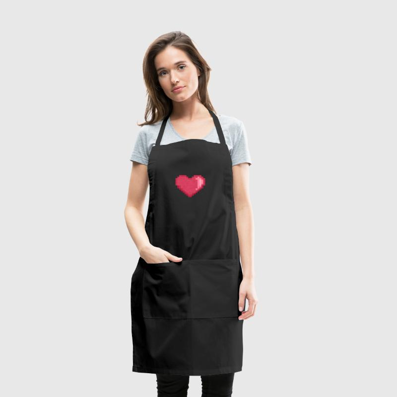 Pixel Heart Ai - Adjustable Apron