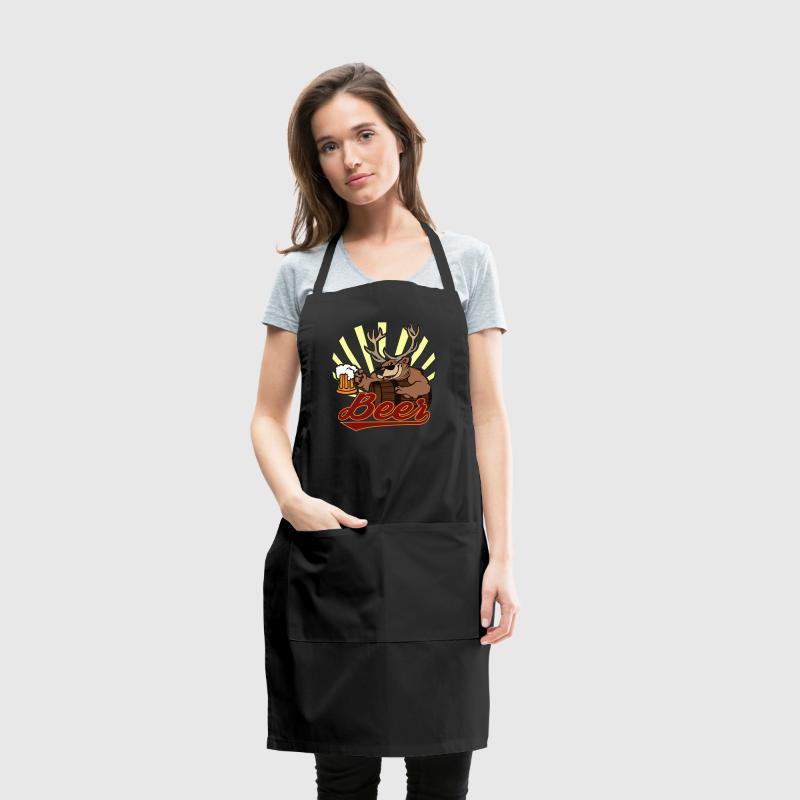 Bear Deer Beer - Adjustable Apron