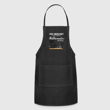 Mathematics T Shirt - Adjustable Apron