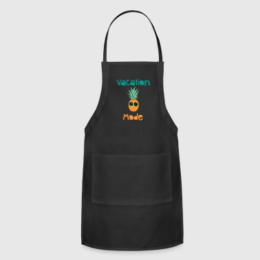 Vacation Mode Pineapple With Sunglasse - Adjustable Apron