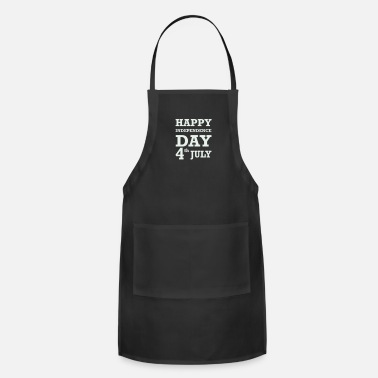 Cool Happy 4th of July - Apron