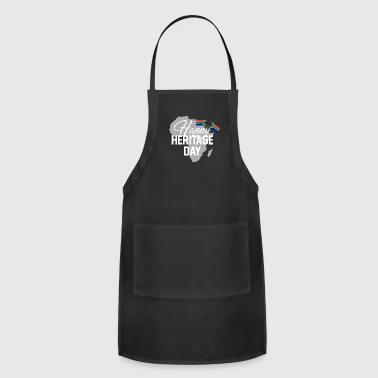 Happy Heritage Day South Africa Design - Adjustable Apron