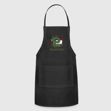 Palestine Flag Nation Gaza Middle East Jerusalem - Adjustable Apron