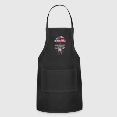 American grown with Canadian roots - Adjustable Apron