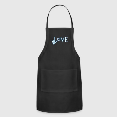Love Xray Radiology Medicine Radiologist Nurse - Adjustable Apron