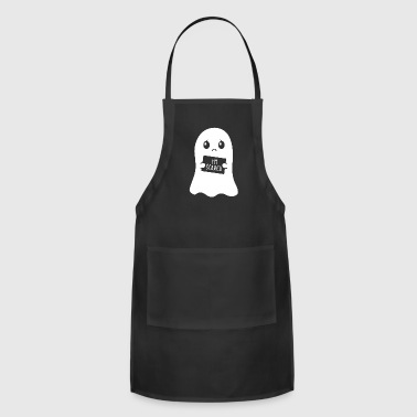 I'm Scared Ghost Halloween Kids Gift - Adjustable Apron