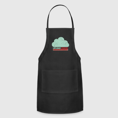 Clouds Upload failed IT geek tech - Adjustable Apron
