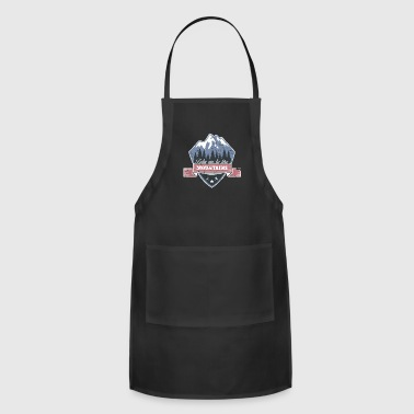 Take me to the Mountains christmas gift idea - Adjustable Apron