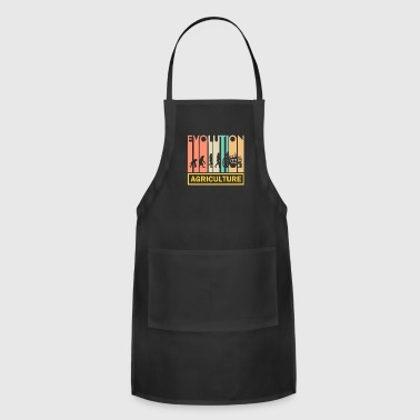 Agriculture Tractor Shirt - Agriculture - Neanderthal - Adjustable Apron