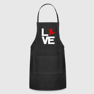 Snowboard, Snowboarder - Love Snowboarding - Adjustable Apron