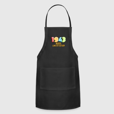 1943 Model Limited Edition Funny Retro Vintage 75th Birthday Gifts - Adjustable Apron
