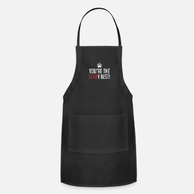 Double Meaning You're The Beary Best - Animal Puns - Total Basics - Adjustable Apron