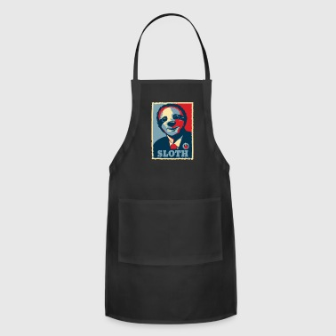 President Obama Sloth President Barack Obama - Adjustable Apron