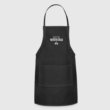 Wicked Trendy This is My Weekend Candle-Making Shirt Gift - Adjustable Apron