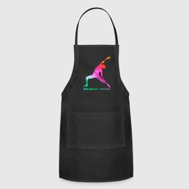 Tits Breast Cancer Awareness Art For Warrior Women Dark Light - Adjustable Apron