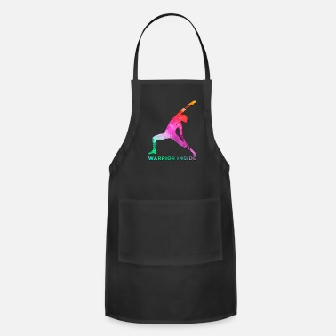 Dark Humor Breast Cancer Awareness Art For Warrior Women Dark Light - Adjustable Apron