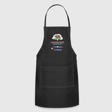 Democrat California Grown with Cuban Roots - Adjustable Apron