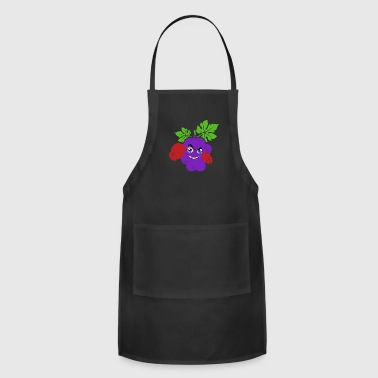 Painting Grapes with boxing gloves funny kids gift - Adjustable Apron