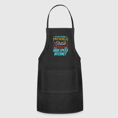 Spam Patience is a Virtue Support Hotline Service PC - Adjustable Apron