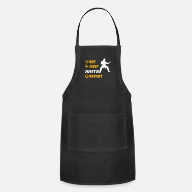 Karate Jujitsu - present for men and women - Adjustable Apron