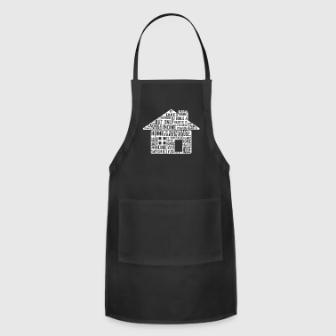 GIFT - HOUSE WHITE - Adjustable Apron