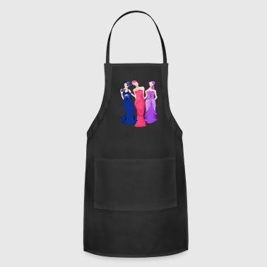Art Deco Art Deco Ladies - Adjustable Apron